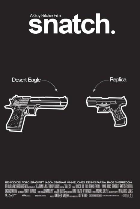 Заряженные афиши - 20 кинопостеров с пистолетами. Изображение № 16.