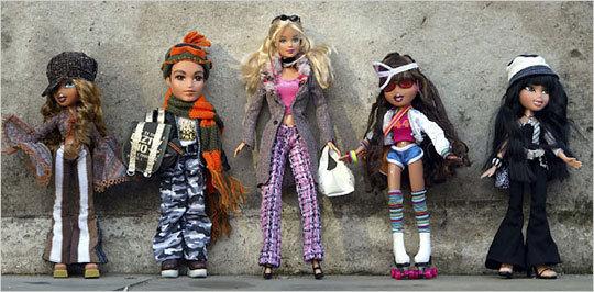 Barbie уничтожает конкурентов Bratz. Изображение № 2.