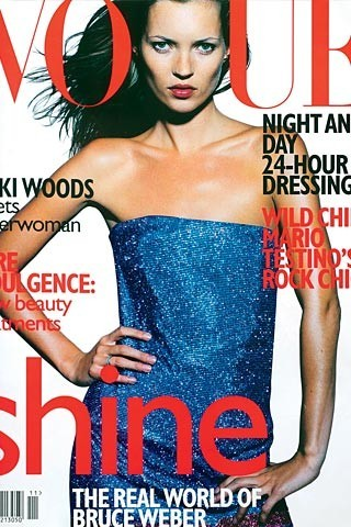 Кейт Мосс на обложках vogue. Изображение № 28.