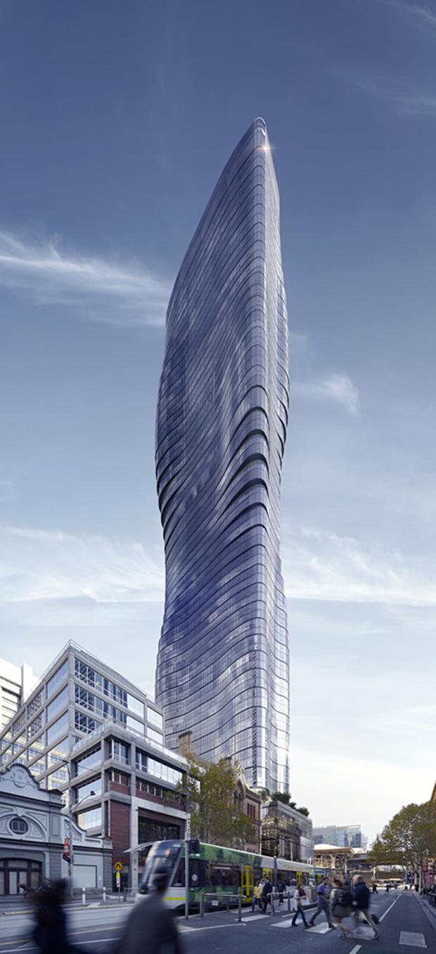 Бюро представило вдохновлённый клипом Бейонсе небоскрёб. Изображение № 5.