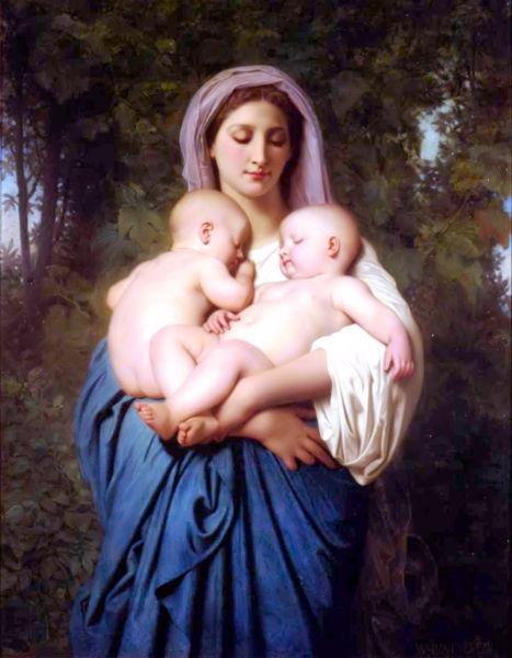 Французский живописец Адольф Вильям Бугро. Изображение № 13.