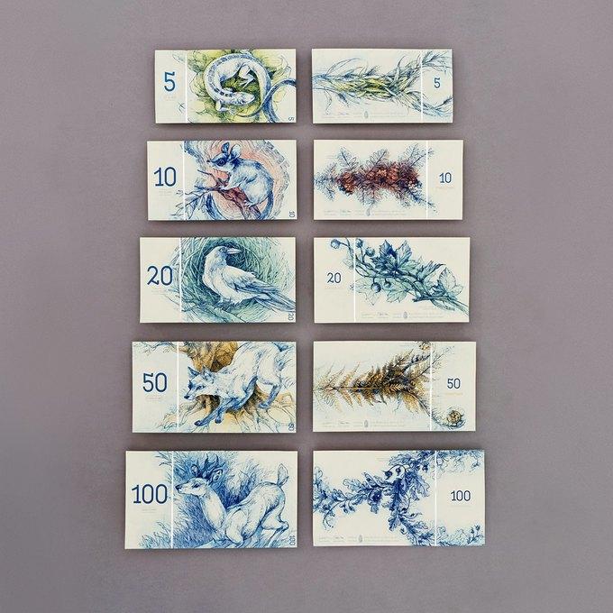 Концепт дня: банкноты несуществующих венгерских евро. Изображение № 2.