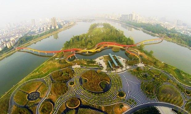 Парк Янвейжоу авторства Turenscape. Изображение № 29.