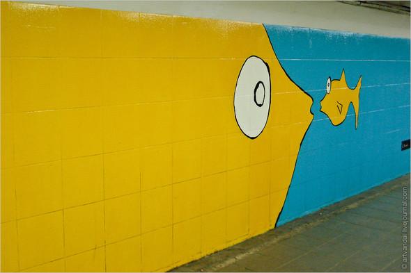 Стрит-арт и граффити Риги. Изображение № 13.