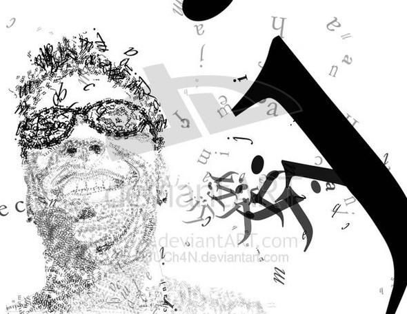 Портреты в типографике. Изображение № 25.