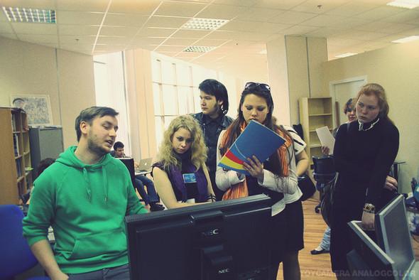 Изображение 10. Яндекс и e-Legion открыли свои двери для школьников.. Изображение № 9.
