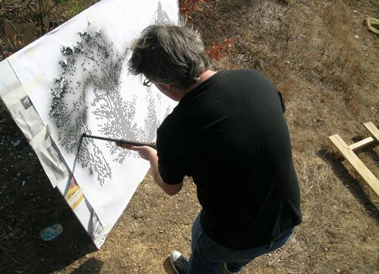.::: рисование пулями. Изображение № 1.