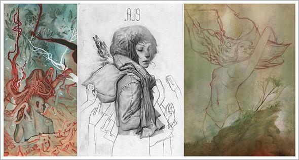 Подборка иллюстраторов ихудожников. Изображение № 11.