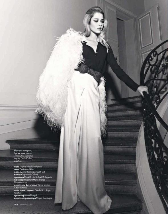 Съёмка: Ана Беатрис Баррос для Elle. Изображение № 8.