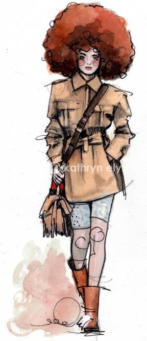 Kathryn Elyse. Fashion Illustrations. Изображение № 12.