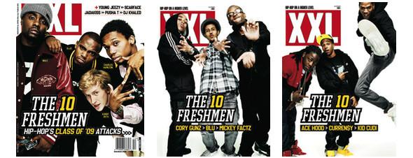 Фристайлы XXL «Freshmen Cover» 2010. Изображение № 2.