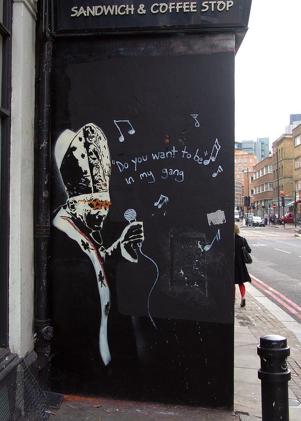 Стрит-арт в Лондоне. Изображение № 36.