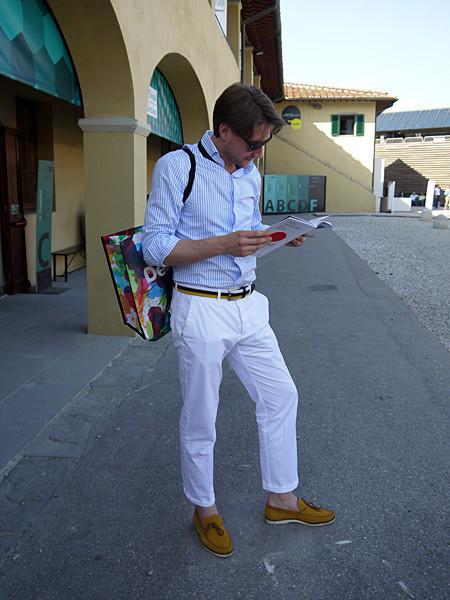 Изображение 25. Pitti Uomo, часть 1: дизайнерские павильоны и красиво одетые мужчины.. Изображение № 15.