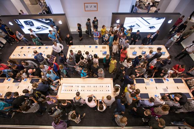 Открытие Apple Shop в ЦУМе. Изображение № 2.