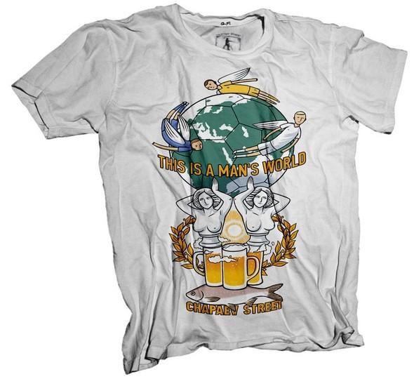 Коллекция футболок от Chapaev Street. Изображение № 1.