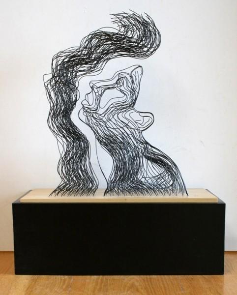 Скульптуры из проволоки Гэвина Ворта. Изображение № 3.