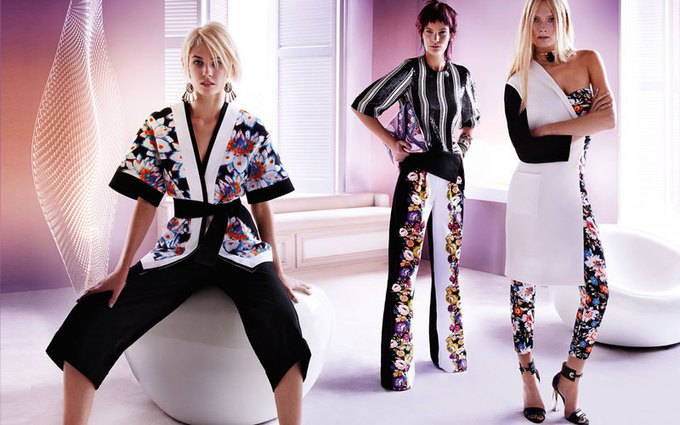 Alexander McQueen, Celine и LUBLU Kira Plastinina показали новые кампании. Изображение № 11.