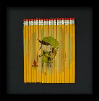 Карандаши какхолст. Изображение № 4.