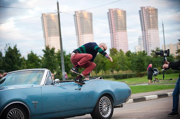 "Backstage съемок клипа Андрея Звонкого ""Суперстар"". Изображение № 7."