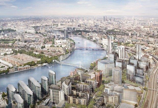 Выложены 74 проекта нового моста через Темзу. Изображение № 23.