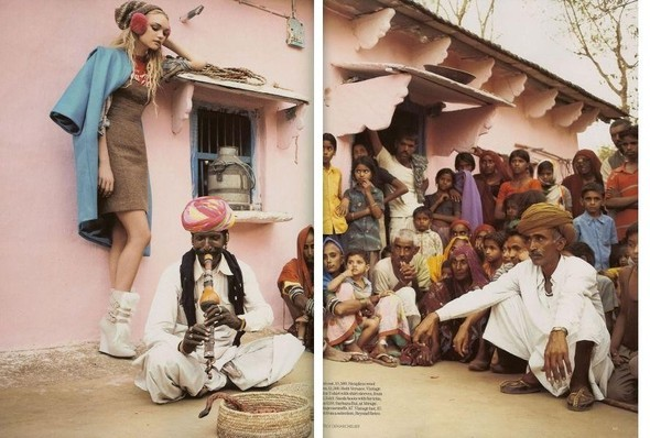 Fashion travels the world.India. Изображение № 10.