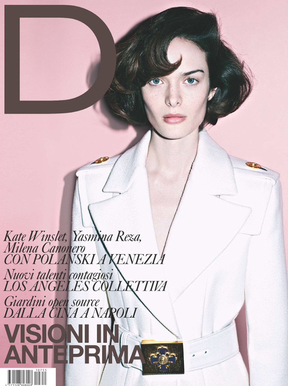 Обложки: D, Elle и Marie Claire. Изображение № 1.
