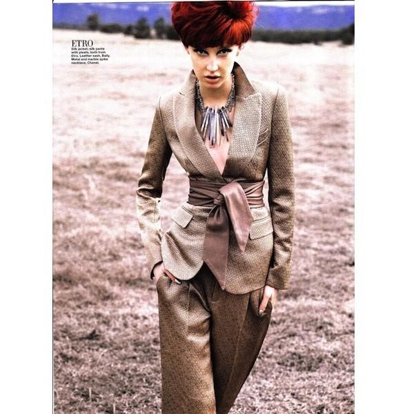 5 новых съемок: Harper's Bazaar, Qvest, POP и Vogue. Изображение № 9.