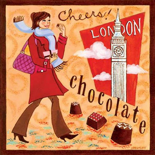 Dolce Vita! Винтажные обертки для шоколада и конфет. Изображение № 49.