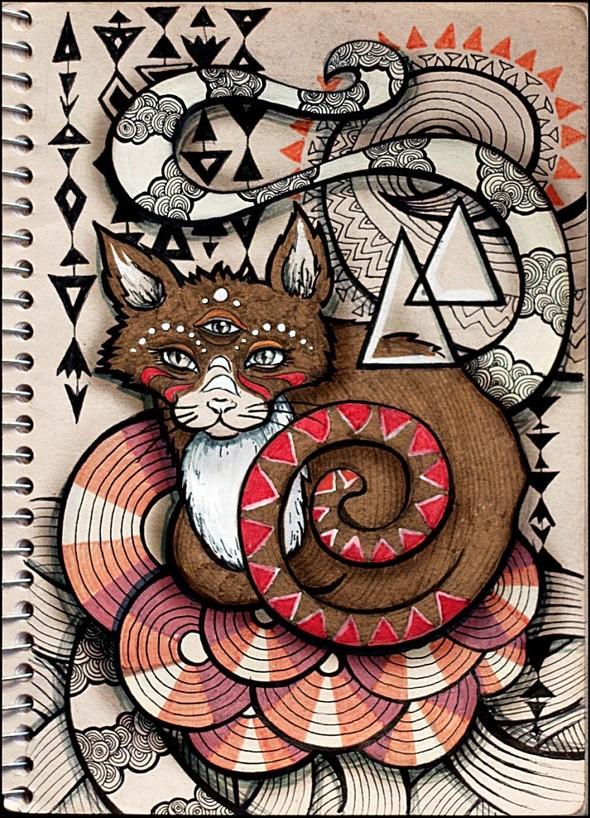 Рисунки в блокнотах. Изображение №4.