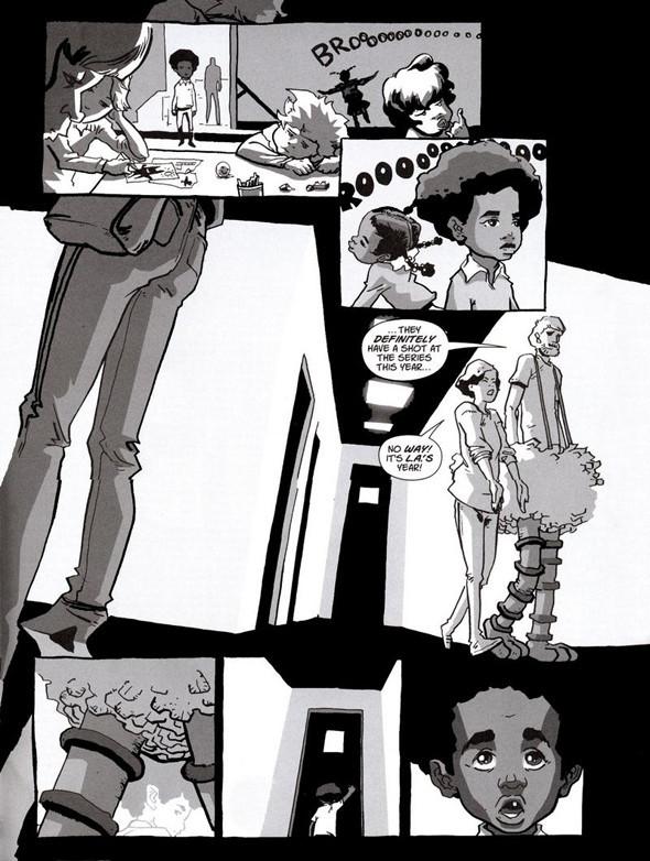 Комиксы легенды хип-хопа. Изображение № 7.