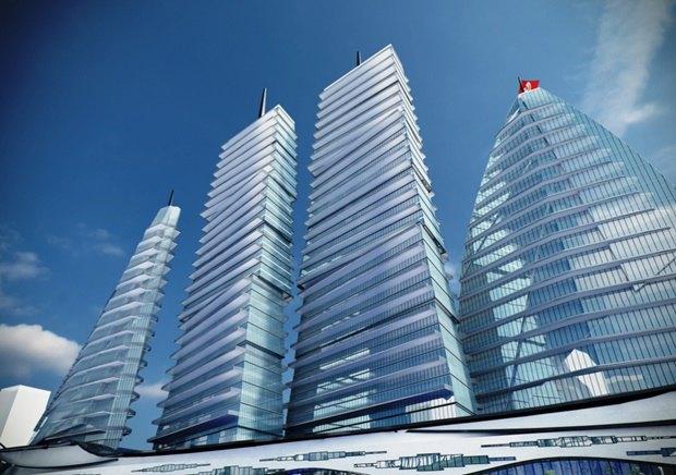 Российский архитектор показал больницу-небоскрёб в виде яхты. Изображение № 9.