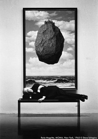 Рене Магритт в MoMA, 1965. Изображение № 16.
