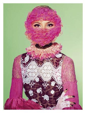 Съёмка с Магдаленой Фрацковяк из итальянского Vogue, апрель 2011. Изображение № 45.