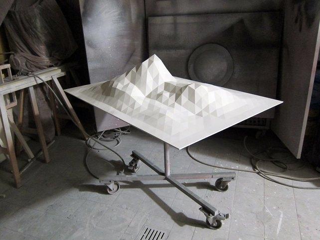Художник превратил Wi-Fi-сигнал в скульптуру. Изображение № 1.