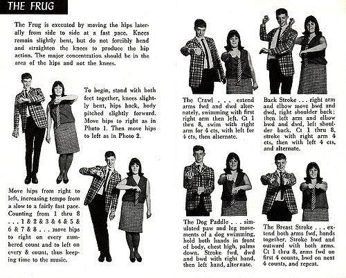 Танцы 60-х годов. Изображение № 1.