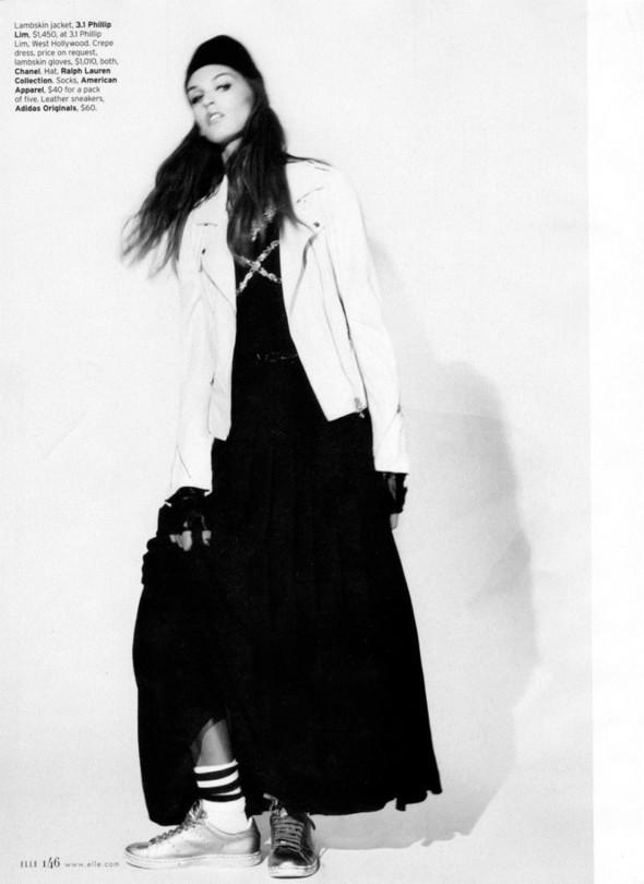 Съёмка: Али Стивенс для Elle. Изображение № 5.