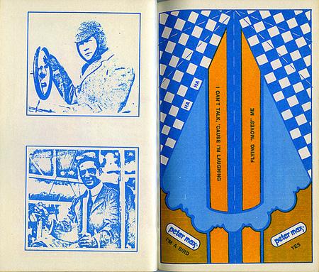 Хипповая книга 1971 года обумажных самолетиках. Изображение № 5.