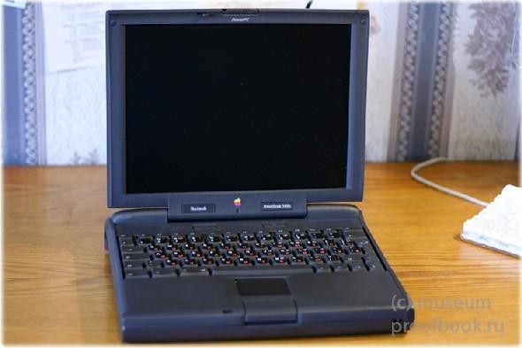 Ретро: Apple Powerbook 3400c200 97года. Изображение № 2.