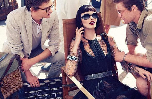Съёмки: Elle, i-D и Vogue. Изображение № 17.