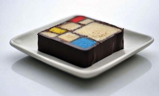 Пит Мондриан x торт. Изображение №4.