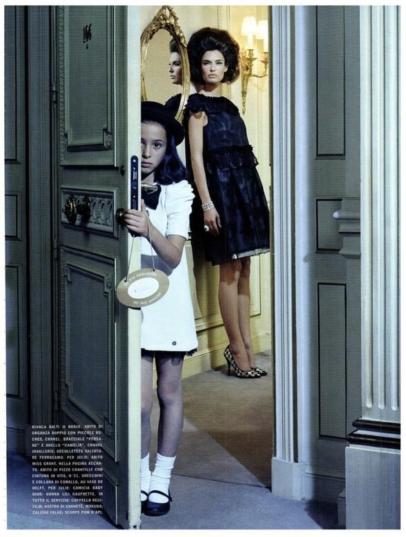 Съёмка: Бьянка Балти для итальянского Vogue. Изображение № 4.