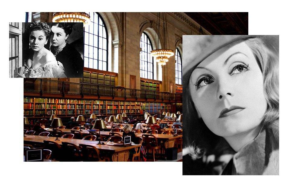 Фильм «Ребекка» Альфреда Хичкока, Грета Гарбо, библиотеки. Изображение № 12.