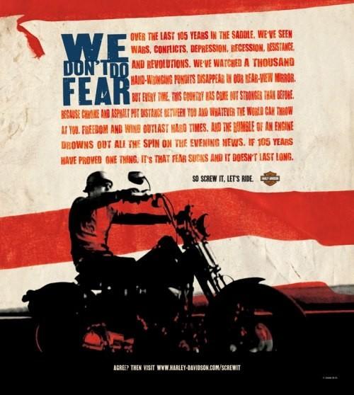 Harley Davidson: реклама легенды. Изображение № 4.