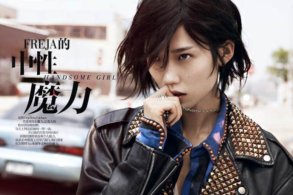 Съёмка: Тао Окамото для китайского Vogue. Изображение № 1.