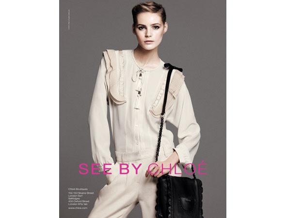 Рекламная кампания See by Chloe SS 2011. Изображение № 50.