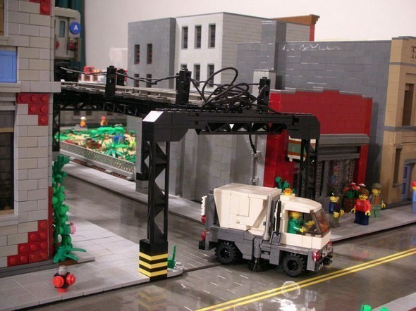 Изображение 13. Улицы Нью-Йорка из конструктора LEGO.. Изображение № 13.