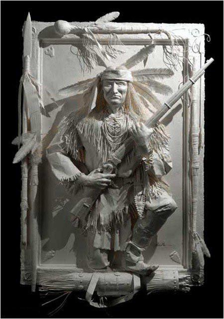 Бумажные скульптуры. Изображение № 26.