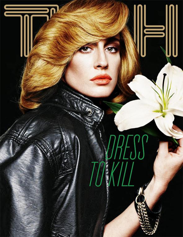 Обложки: Flair, Nylon и Tush. Изображение № 3.