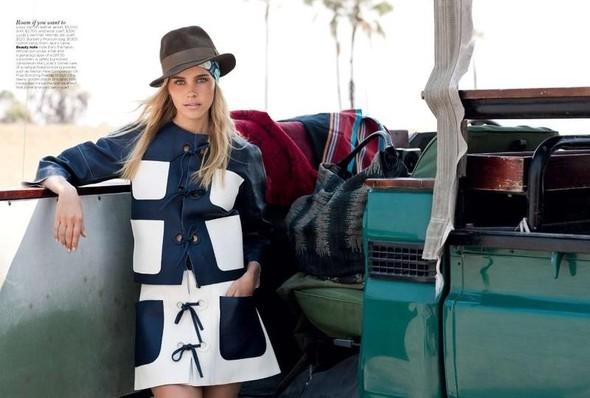 Съёмка: Изабель Лукас для австралийского Vogue. Изображение № 3.