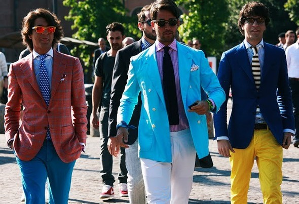 Как одеваются итальянцы? (продолжение). Изображение № 11.